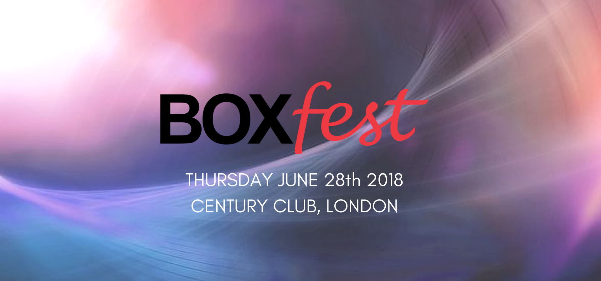 THURSDAY-JUNE-28th-2018CENTURY-CLUB-LONDON