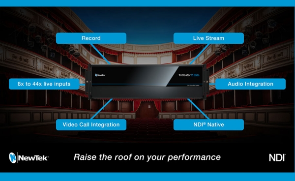 Raise the Roof with NewTek TriCaster and NDI®
