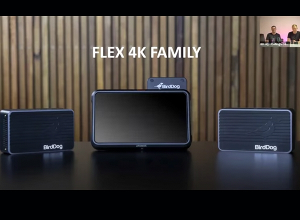 BirdDog Announce the 4K Flex Family