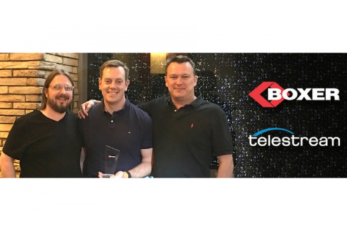 Boxer Systems Receives Telestream's 'Worldwide Dealer of the Year' Award
