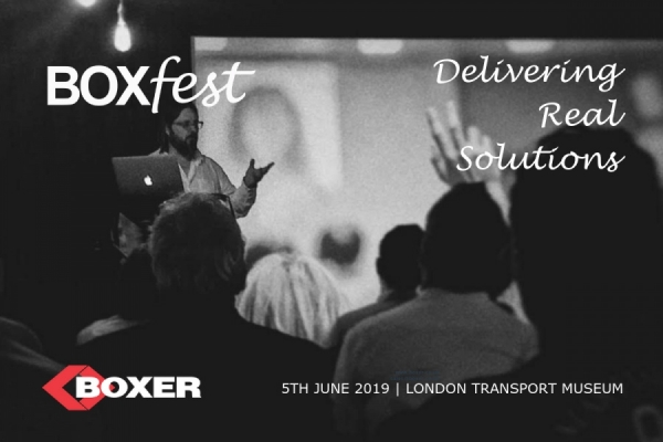 BOXfest 2019 - Wednesday 5th June, London Transport Museum