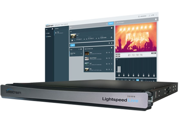 Telestream Lightspeed Live Capture C3 and C4 Now Available