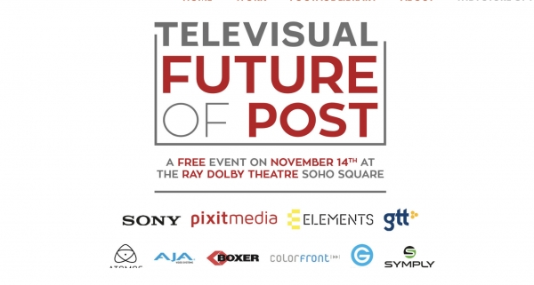 Boxer at Televisual's Future of Post Event