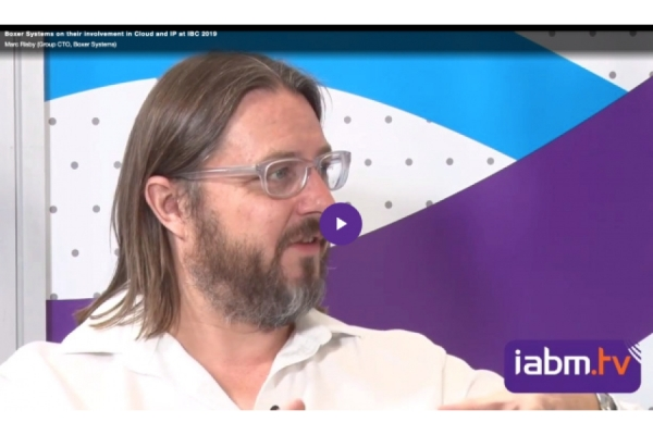 Marc Risby talks exclusively to IABM.TV